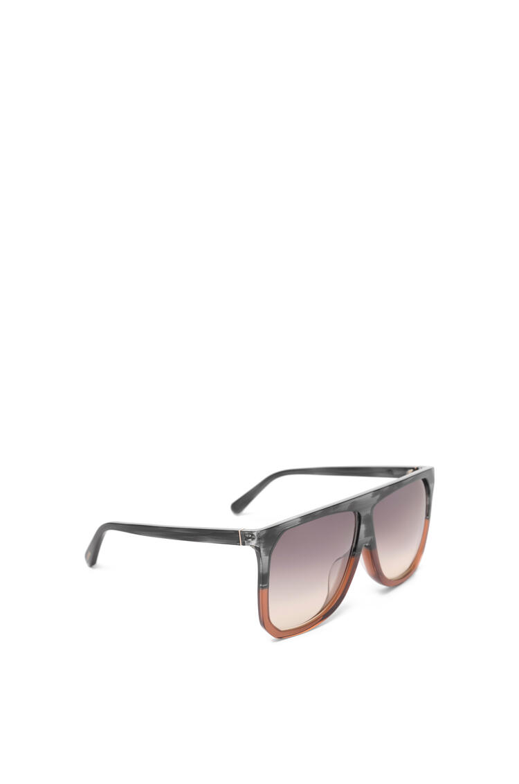 LOEWE Gafas de sol Filipa en acetato Gris/Marron/Amarillo Degradado pdp_rd