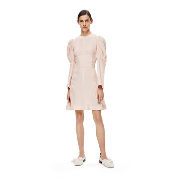LOEWE Knit Ballerina 25 Soft White front