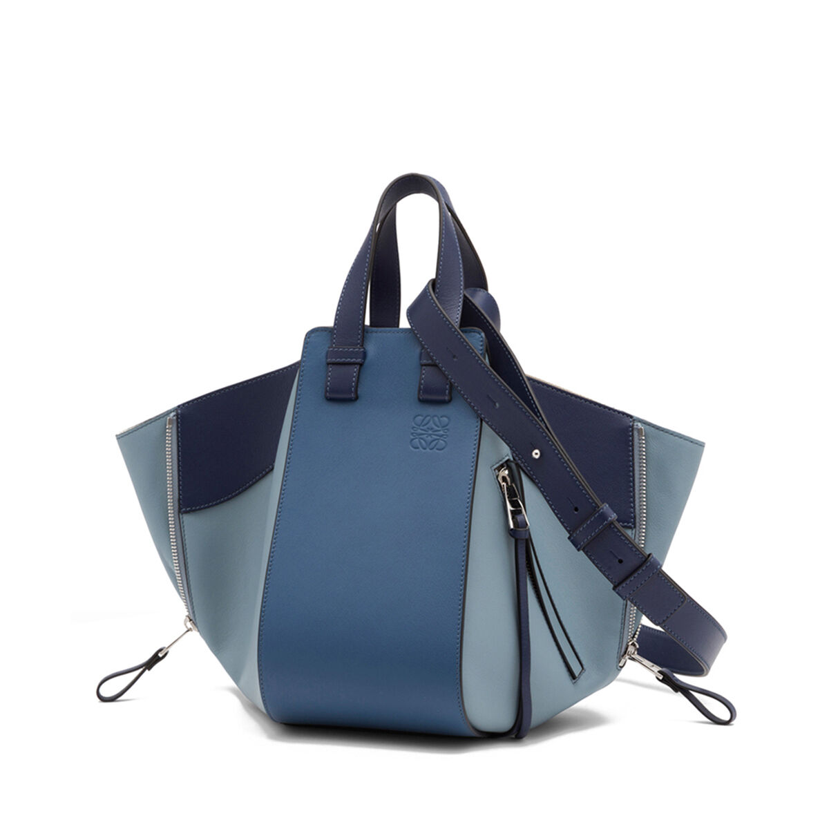 LOEWE Hammock Small Bag Varsity Blue Multitone all