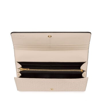 LOEWE Continental Wallet Ivory front