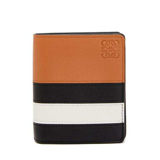 LOEWE Animations Compact Wallet Black/White front
