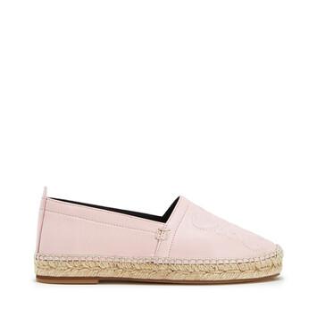 LOEWE Anagram Espadrille Light Pink front