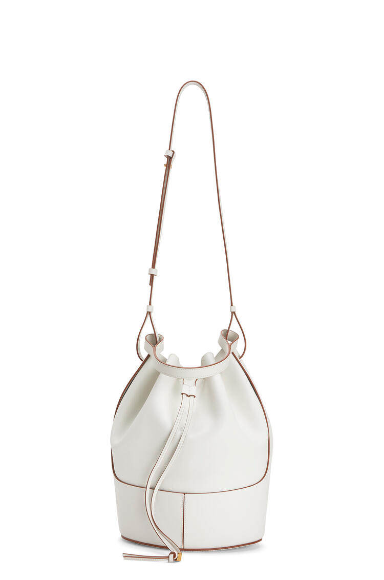 LOEWE Large Balloon bag in nappa calfskin Soft White pdp_rd
