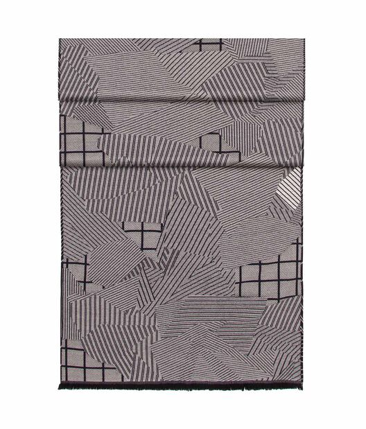 LOEWE 70X200 Scarf Patchwork Gris/Azul all
