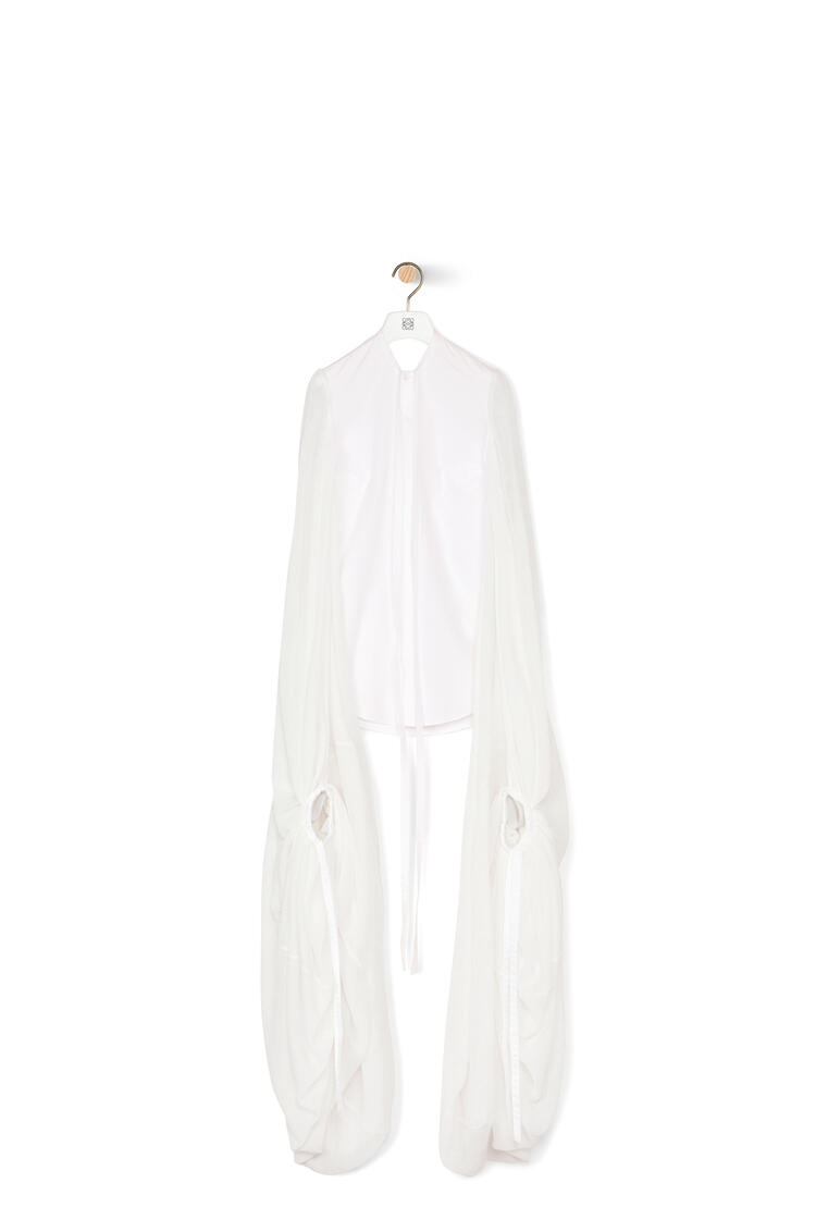 LOEWE Long sleeve shirt in polyester White pdp_rd