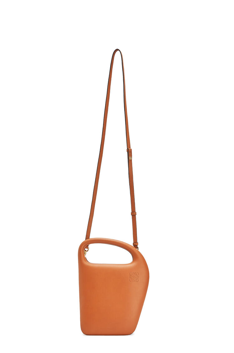 LOEWE Architects D bag in natural calfskin Tan pdp_rd