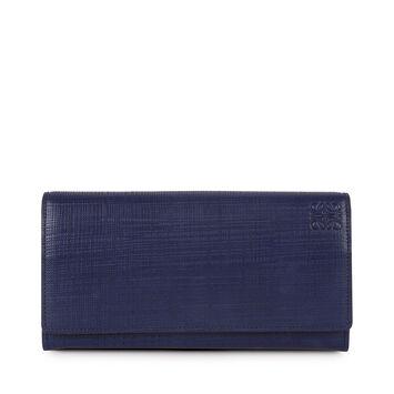 Linen Continental Wallet