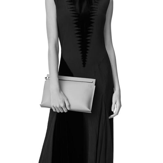 LOEWE T Pouch Linen Black front
