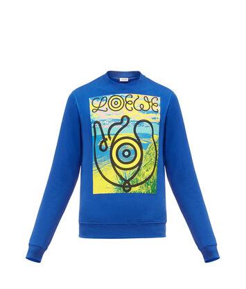 LOEWE Sweatshirt Loewe Eye Azul front