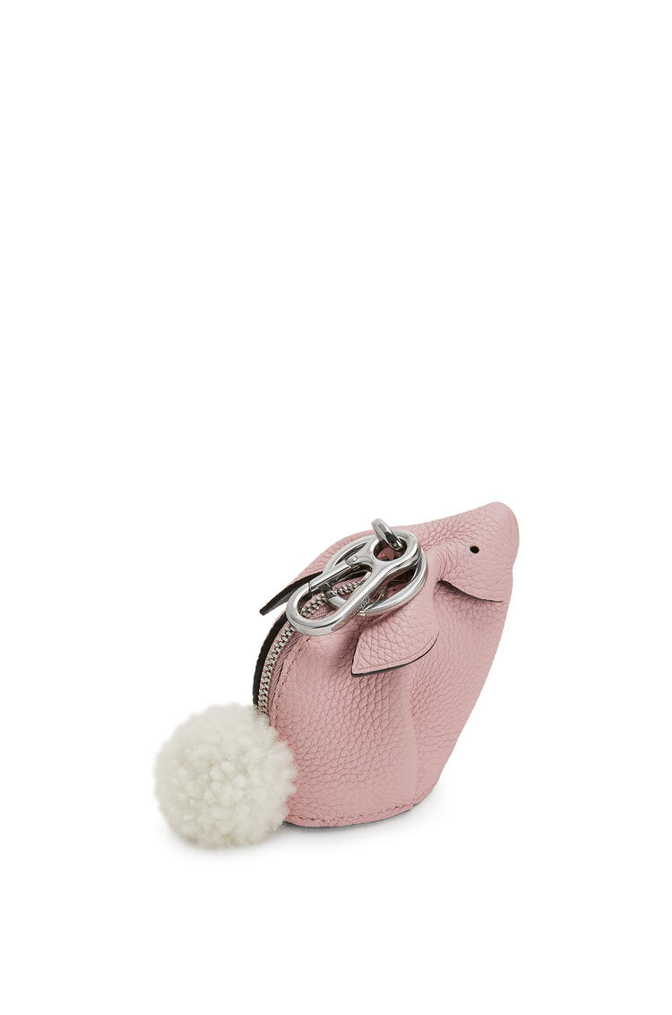 LOEWE Bunny charm in soft grained calfskin Pastel Pink pdp_rd