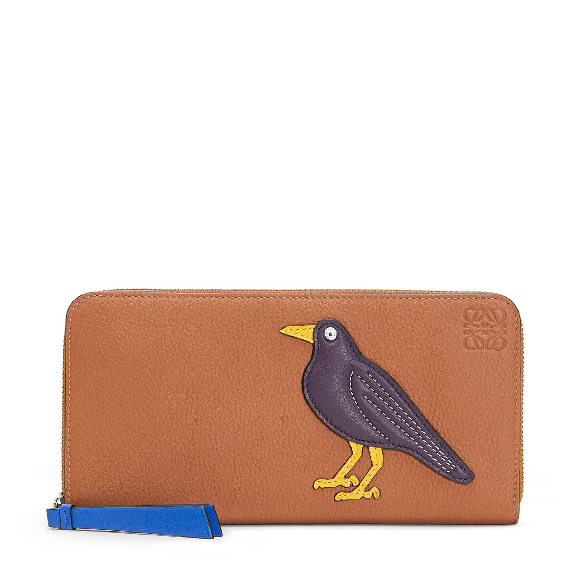 LOEWE Zip Around Wallet Multicolor front