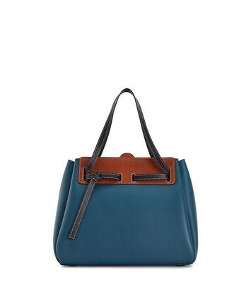 LOEWE Lazo Shopper Petroleum Blue front