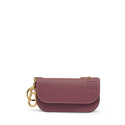 LOEWE Gate Mini Wallet Wine/Oxblood front