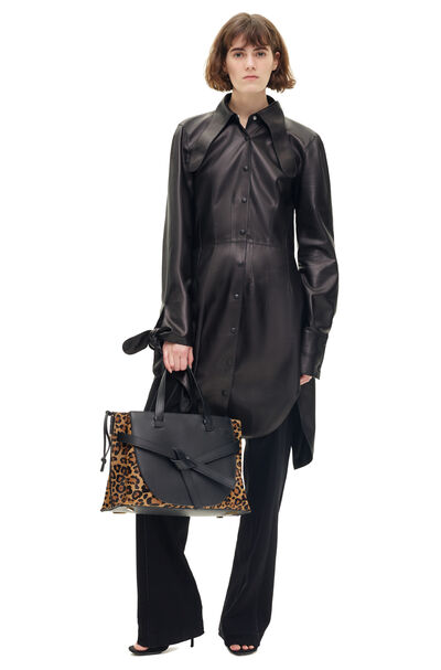 LOEWE Shirtdress Black front