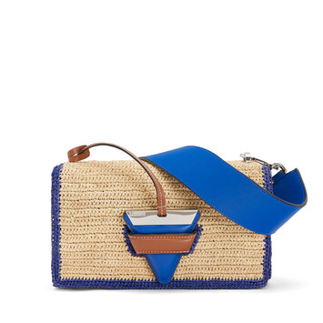 LOEWE Paula's Barcelona Bag Natural/Blue front