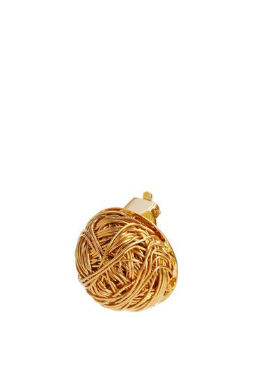 LOEWE Wired globe earrings Gold pdp_rd