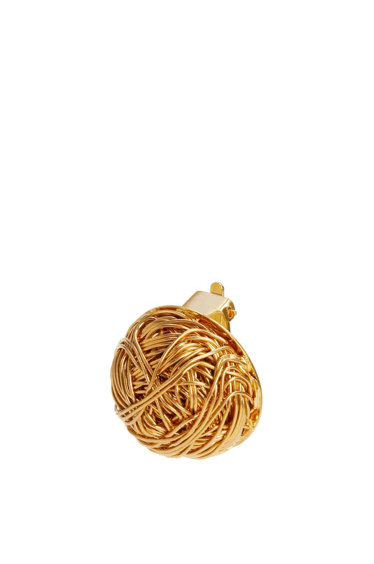 LOEWE Wired globe earring Gold pdp_rd