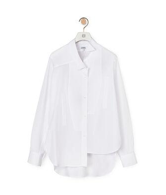 LOEWE Asymmetric Shirt White front