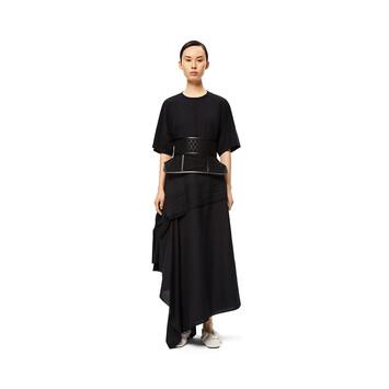 LOEWE Obi Belt Lace 黑色 front