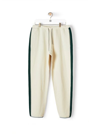 LOEWE Eln Fleece Trousers Calico front