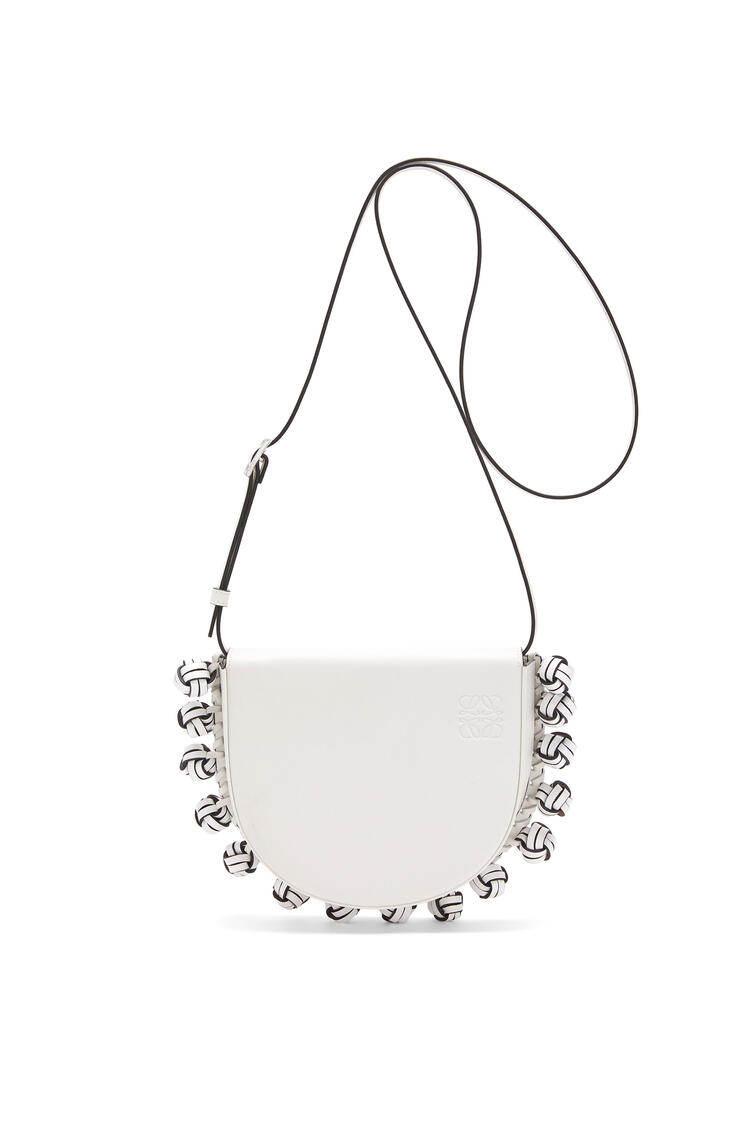 LOEWE Heel knots bag in soft calfskin Soft White pdp_rd