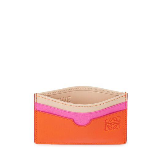 LOEWE Plain Card Holder orange/multicolour all