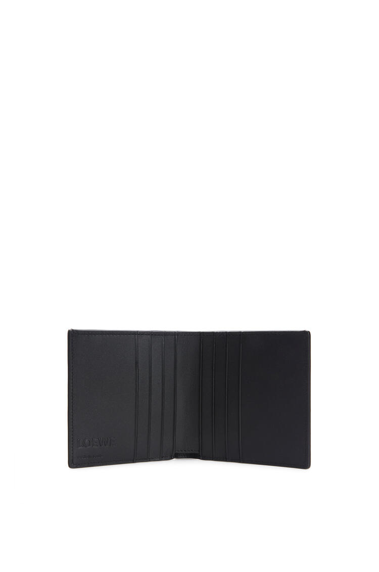 LOEWE Bifold wallet in grained calfskin Dark Moss pdp_rd