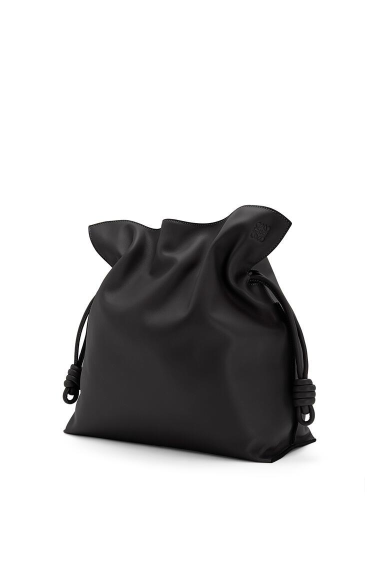 LOEWE 大号纳帕牛皮革 Flamenco 手袋 黑色 pdp_rd
