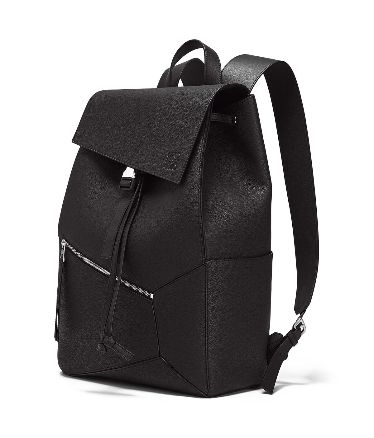 LOEWE Puzzle Backpack 黑色 all