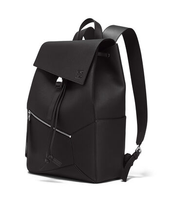 LOEWE Puzzle Backpack Black front