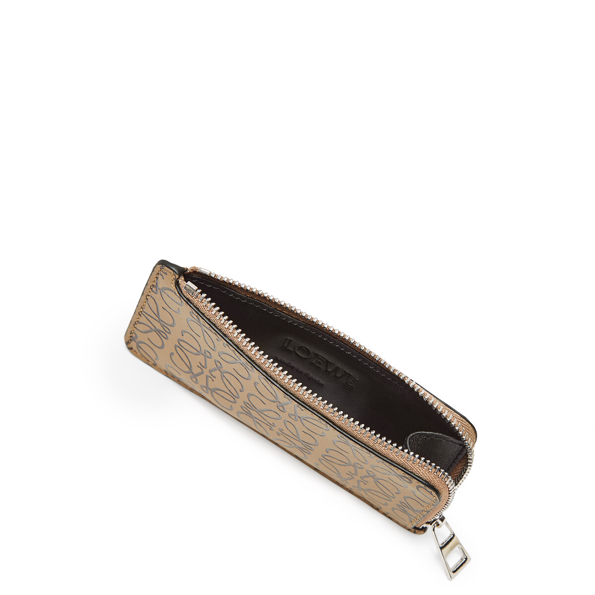 LOEWE Coin/Card Holder Mocca/Black front
