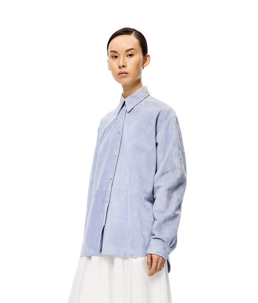 LOEWE Shirt Light Blue front