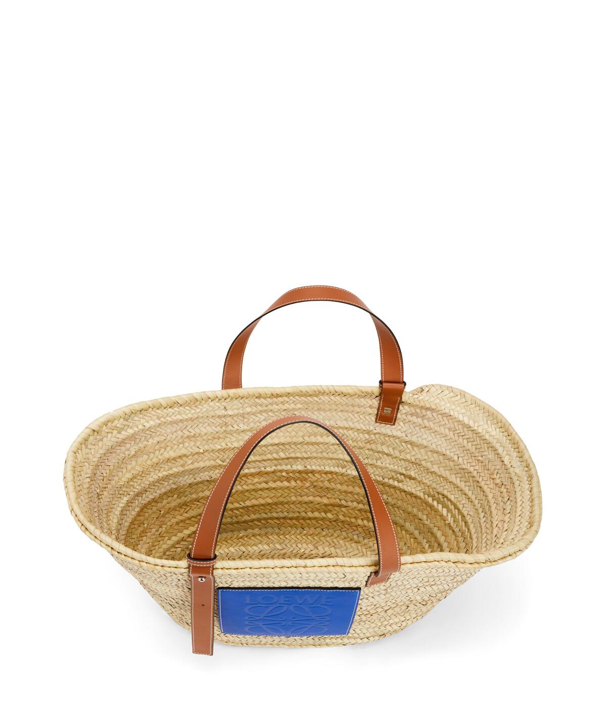 LOEWE Basket Large Natural/Blue front