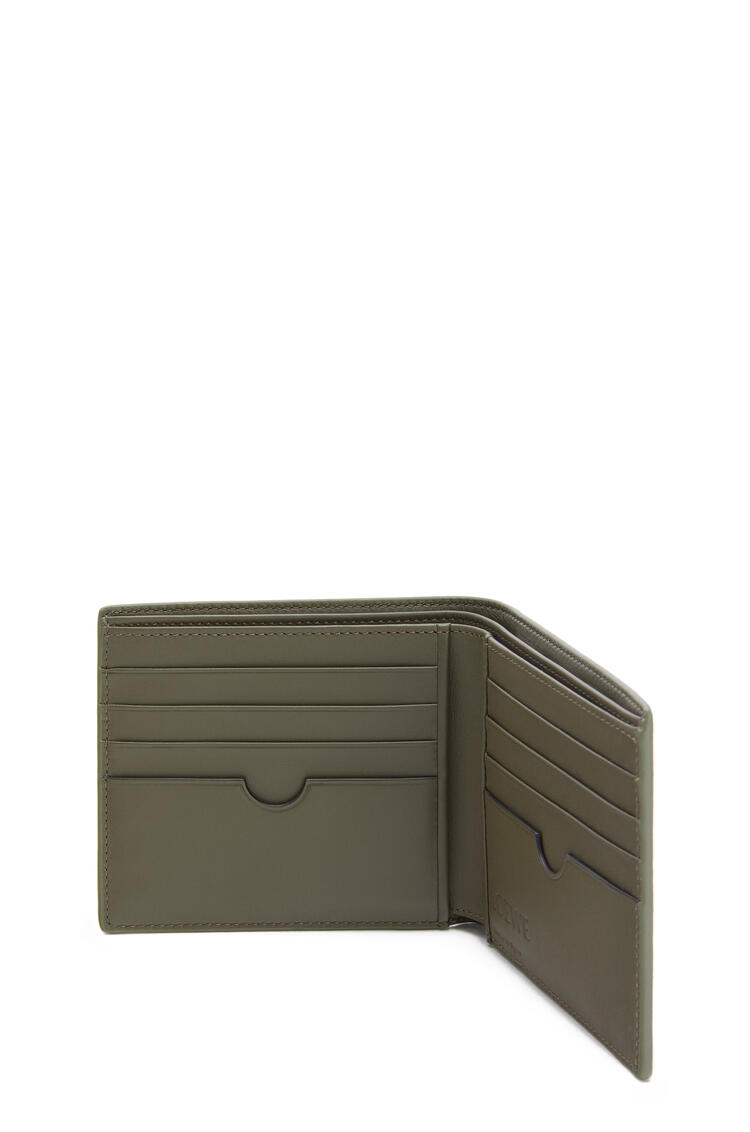 LOEWE Bifold wallet in smooth calfskin Cognac pdp_rd