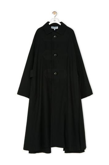 LOEWE Martingale Coat Negro front