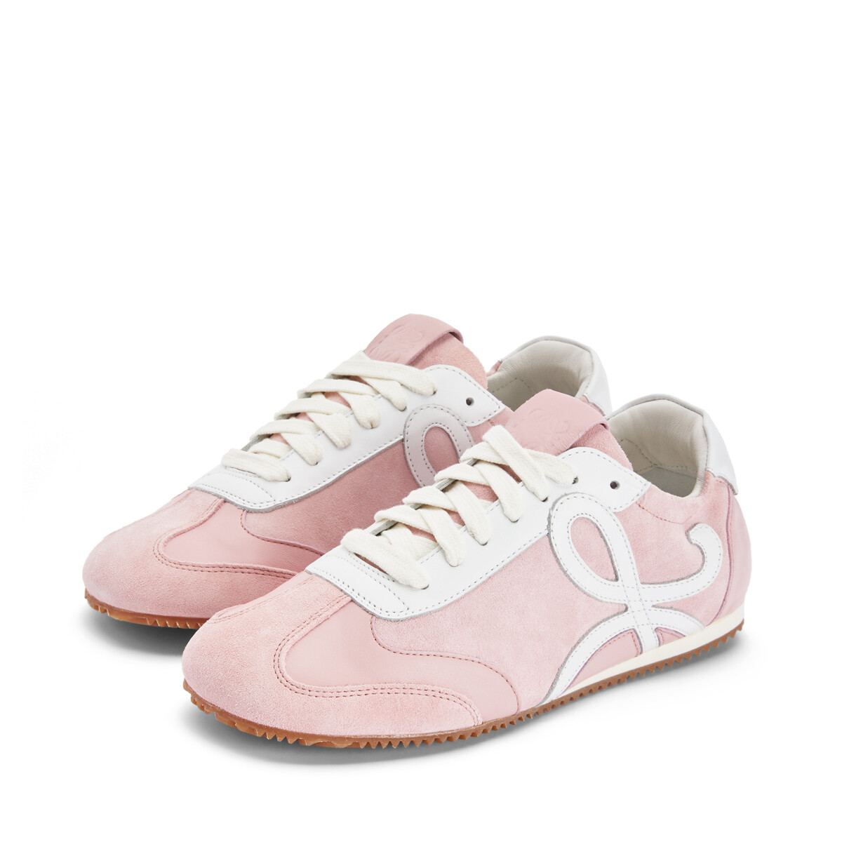 LOEWE Ballet Runner Pink/White front