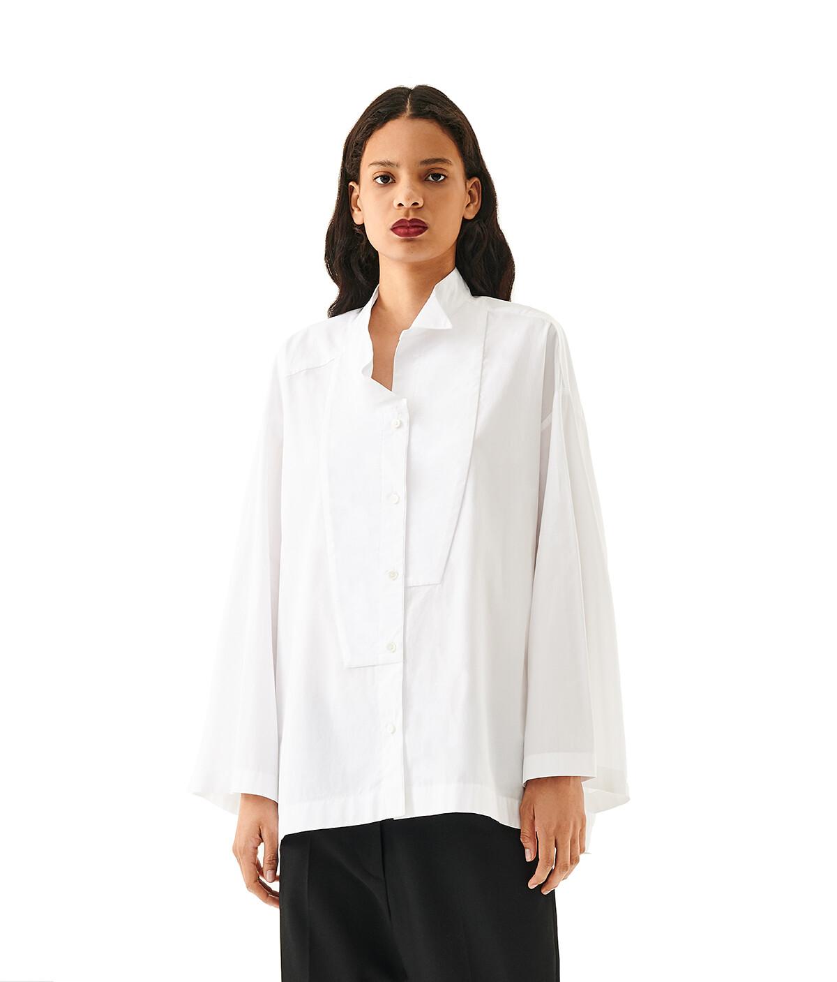 LOEWE Oversize Shirt Blanco front