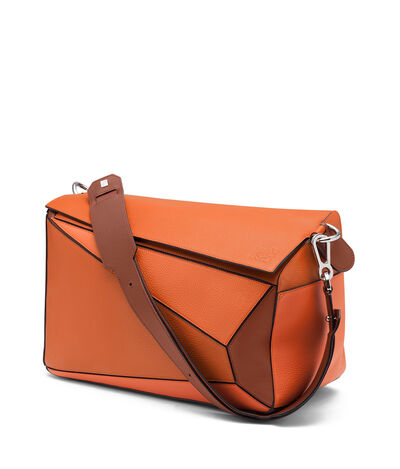 LOEWE Puzzle Xl Bag Ginger Multitone front