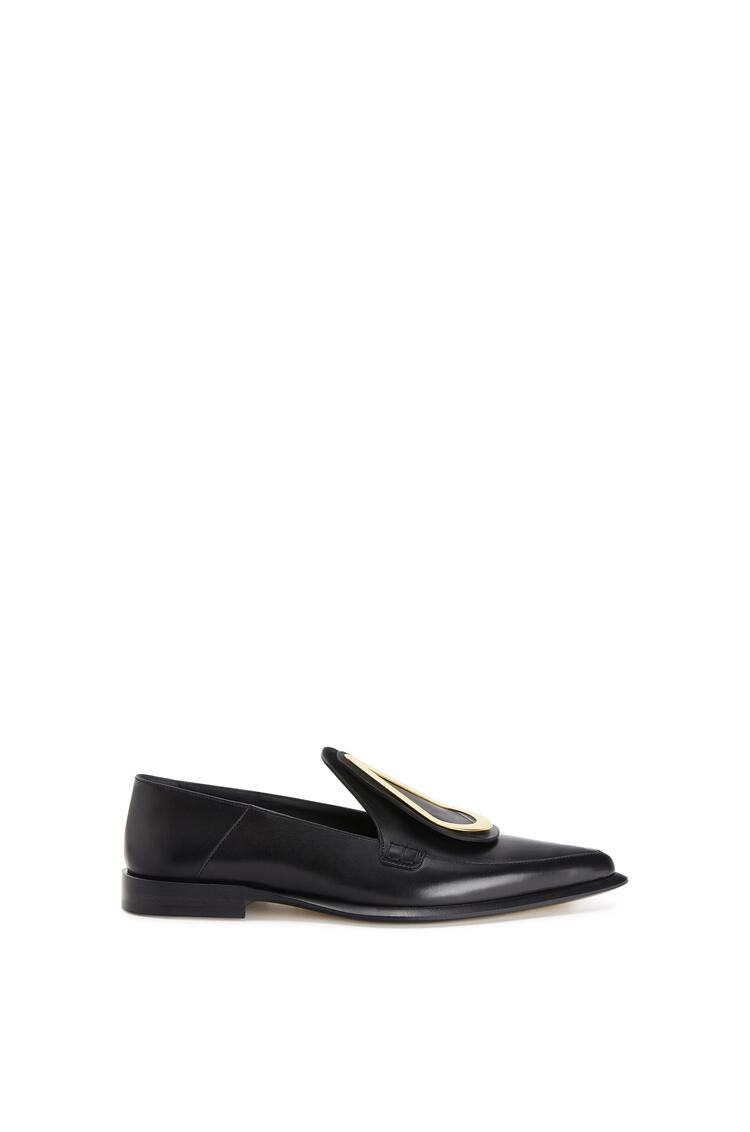 LOEWE Drop Pointy Loafer In Calfskin Black pdp_rd