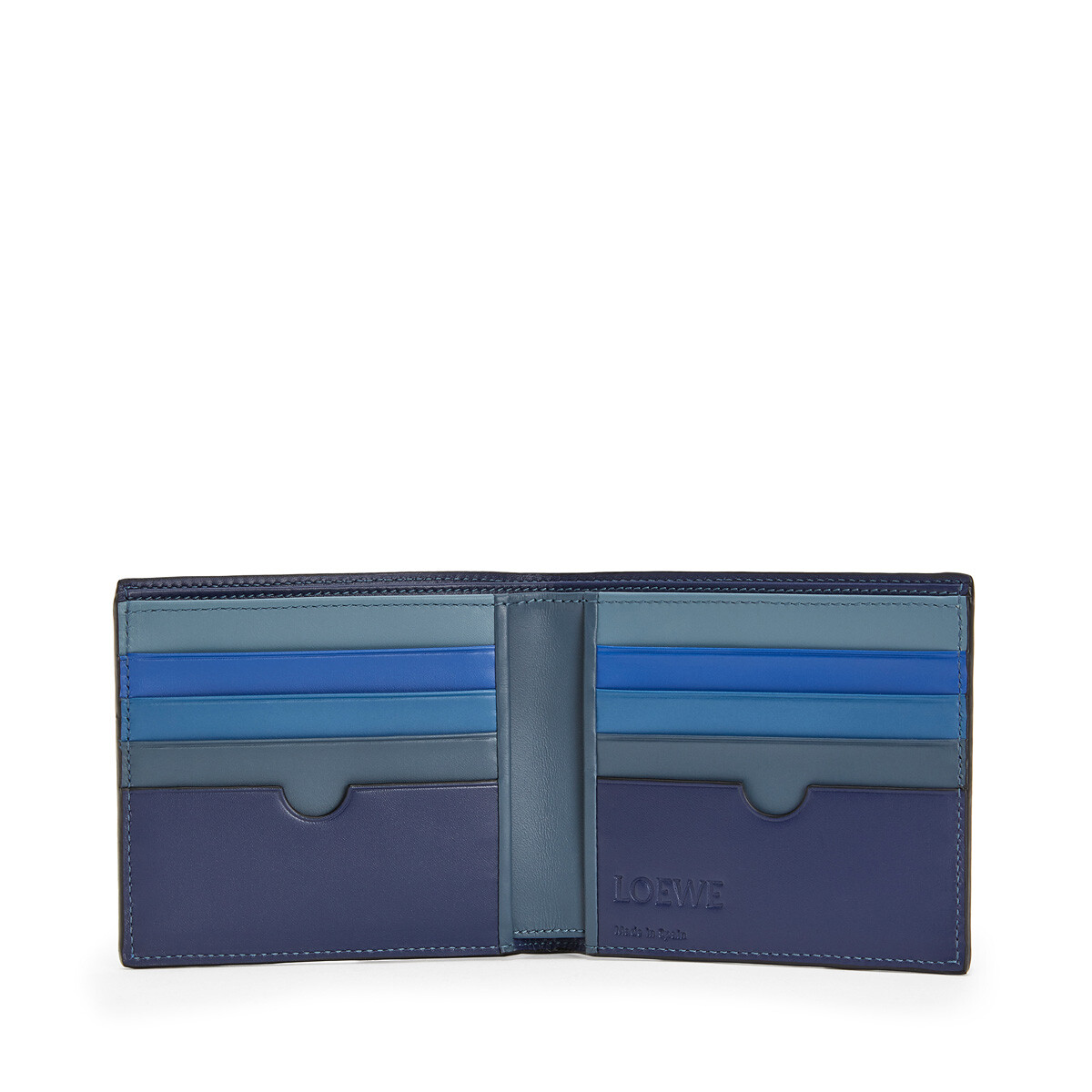 LOEWE Rainbow Bifold Wallet Multicolor front