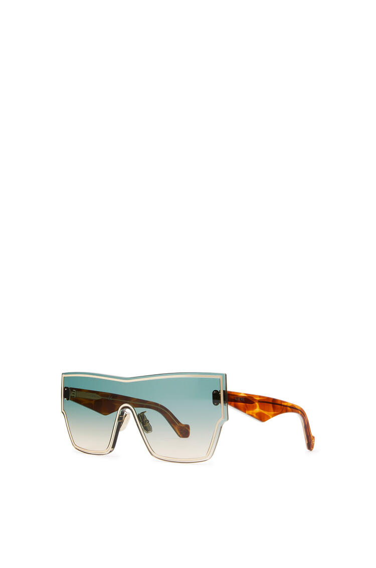 LOEWE Large mask sunglasses Aquamarine/Toffee pdp_rd