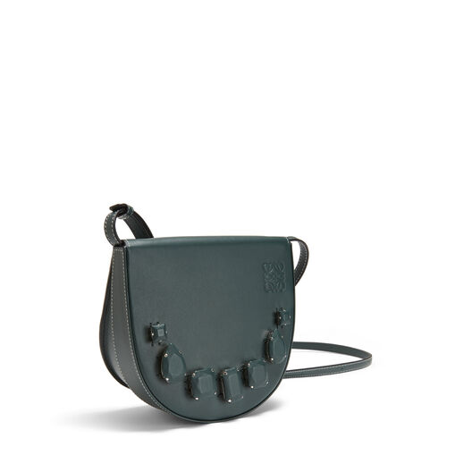 LOEWE Heel Mini Bag Jeweled Cypress all