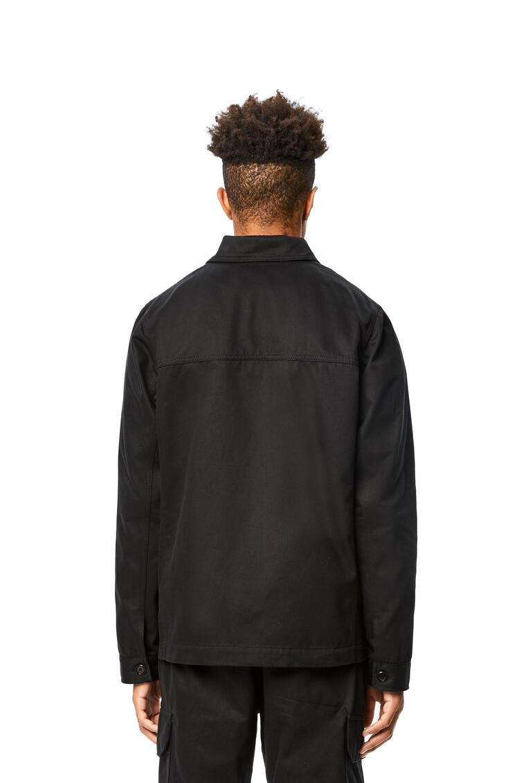 LOEWE Workwear jacket in cotton Black pdp_rd