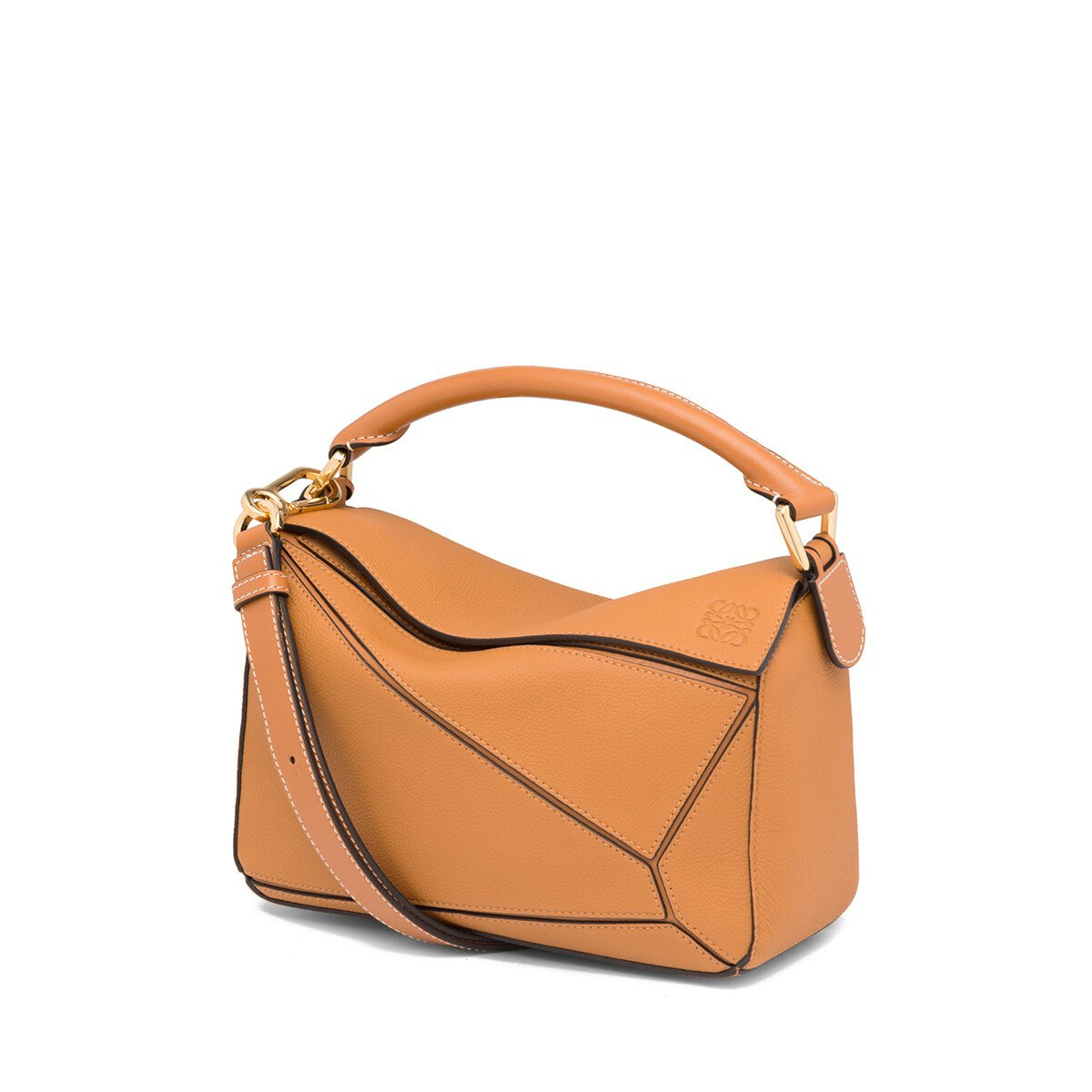 LOEWE Puzzle Small Bag Light Caramel front