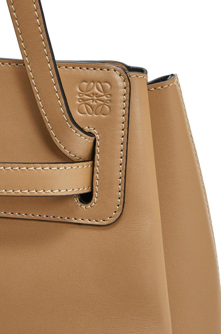 LOEWE Lazo shopper bag in box calfskin Dune pdp_rd