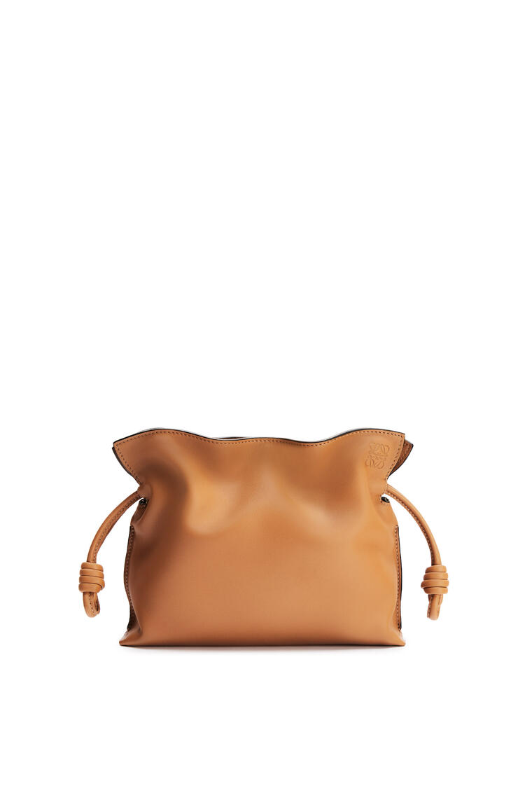 LOEWE Mini Flamenco clutch in nappa calfskin Warm Desert pdp_rd