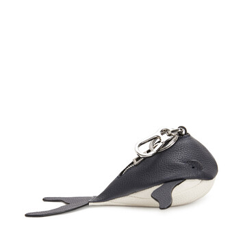 LOEWE Whale Charm Paula Midnight Blue/White front