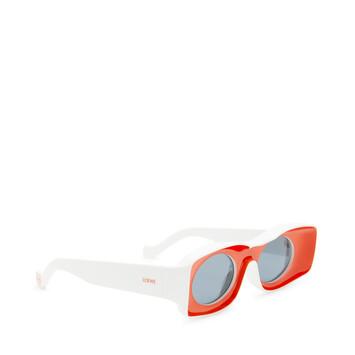 LOEWE Paula Sunglasses Red/White front