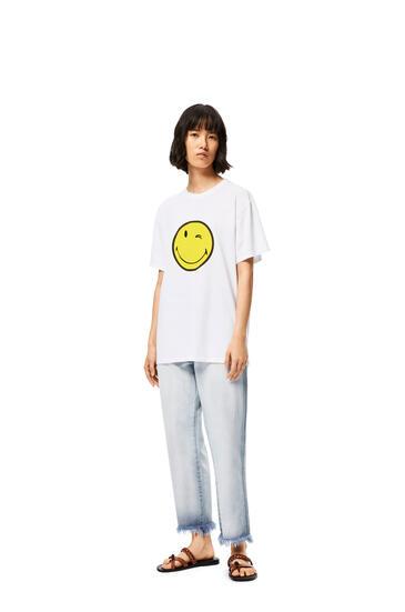 LOEWE スマイリーワールド Tシャツ (コットン) ホワイト pdp_rd