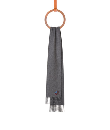 LOEWE 35X170 Anagram Scarf Gris front